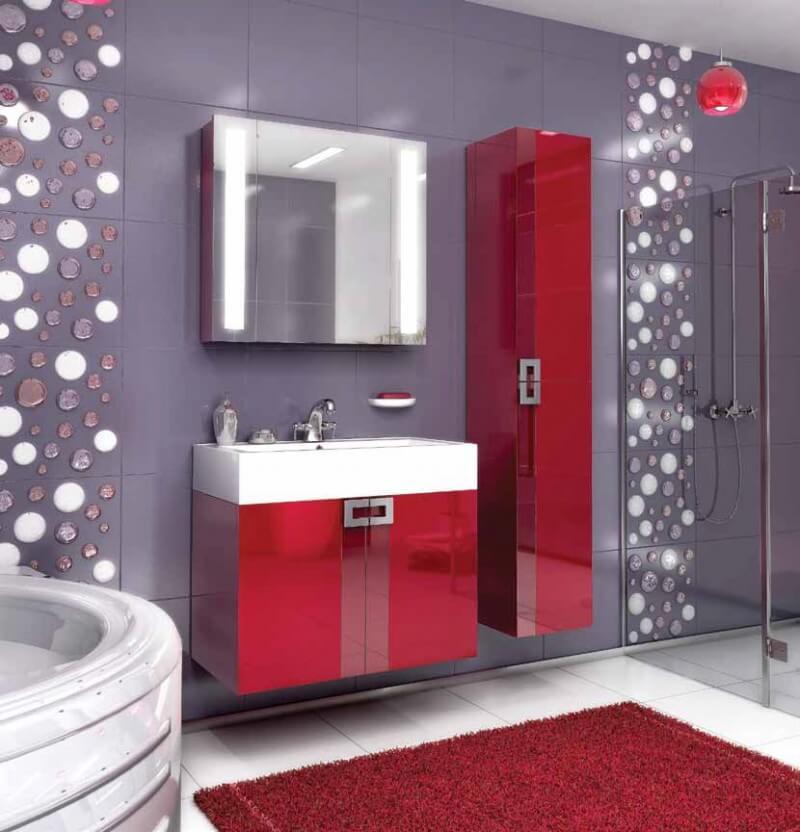 Комплекты от 61 до 8 см мебели для ванной комнаты в